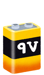 乾電池9V形