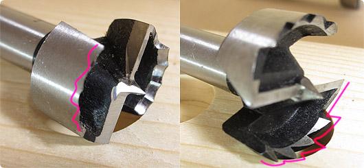 ギザ刃とウェーブカッターの比較